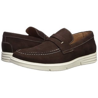 Link to Driver Club USA Men's Shoes New Haven Leather Closed Toe Penny Loafer Similar Items in Golf Shoes