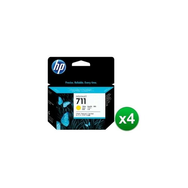 HP 711 29-ml Yellow DesignJet 3 Ink Cartridges (CZ136A)(4-Pack)