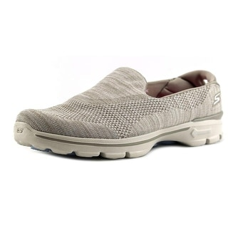 Skechers Fitknit Extreme Women Round Toe Synthetic Tan Sneakers