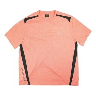 Tasso Elba NEW Coral Orange Mens Size 2XL Performance Rapidry T-Shirt
