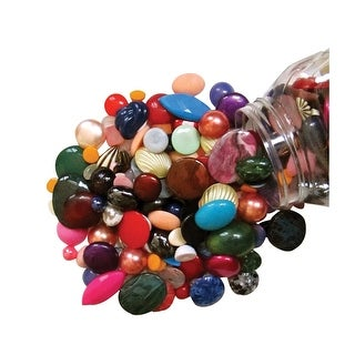 Stanislaus Assorted Vintage and Antique Cabochon Mix, 1 Pound