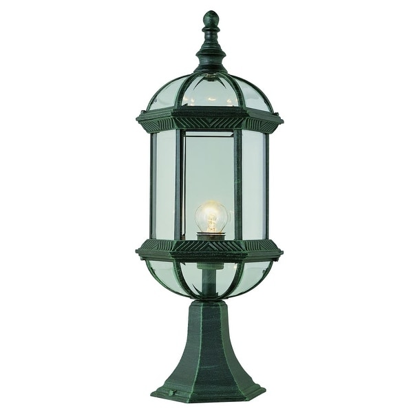 Trans Globe Lighting 4182 1-Light Up Lighting Outdoor Pier Mounted Post Light from the Outdoor Collection