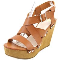 Fergalicious Libby Women  Open Toe Synthetic  Wedge Sandal