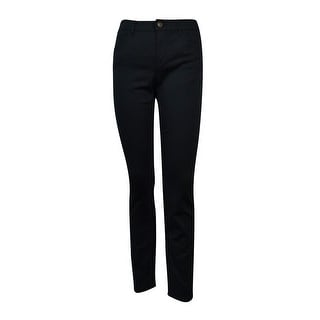 American Living Women's Solid Slimming Fit Jeans