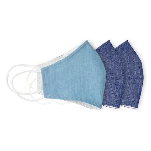 Cotton Solid Fabric Face Mask Reusable Nose Clip Filter Pocket Cloth Face Mask