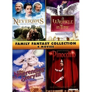 Family Fantasy Collection: 4 Movies - DVD