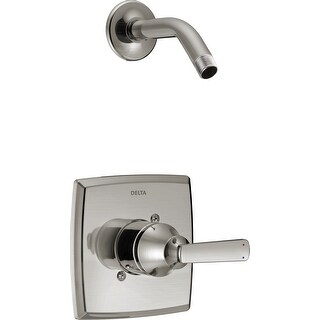 Delta T14264-LHD  Ashlyn Monitor 14 Series Single Function Pressure Balanced Shower Trim Package - Shower Head and Rough-In