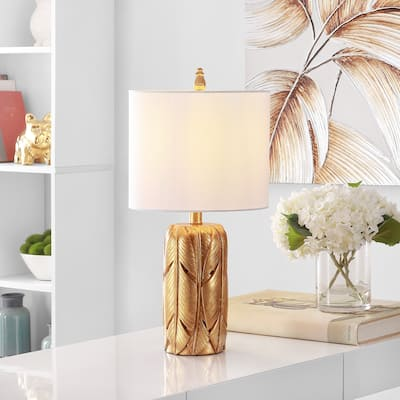 "SAFAVIEH Lighting Wilsa 23-inch LED Table Lamp - 11"" W x 11"" L x 22.5"" H"