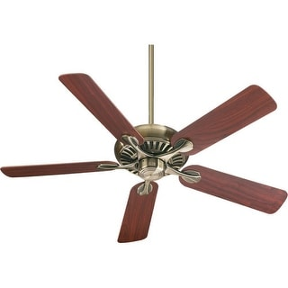 Quorum International Q91525 Energy Star Rated Traditional / Classic Indoor Ceiling Fan from the Pinnacle Collection