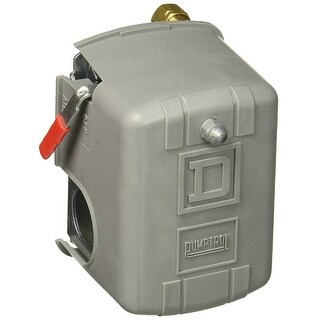Square D 9013FHG59J52M1X Pumptrol Air-Compressor Pressure Switch, 125 PSI