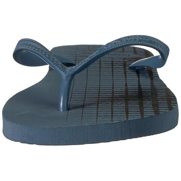e24a3eb40b243 Shop Havaianas Men s Top Basic Sandal Indigo Blue - Free Shipping On Orders  Over  45 - Overstock - 27099220