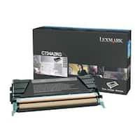 Lexmark C734A2KG Lexmark Black Toner Cartridge
