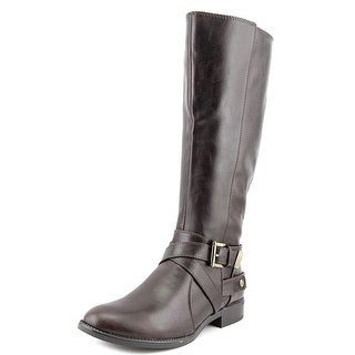 Life Stride Racey W Round Toe Leather Knee High Boot