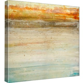"""PTM Images 9-98862  PTM Canvas Collection 12"""" x 12"""" - """"Cascade Crossing"""" Giclee Abstract Art Print on Canvas"""