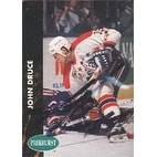 John Druce Washington Capitals 1992 Parkhurst Autographed Card This item comes with a certificate