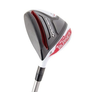 New TaylorMade AeroBurner Fairway Wood LH w/ Comp CZ Silver Graphite Shaft