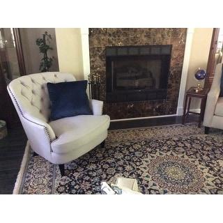 Christopher Knight Home 235060 Tafton Club Chair Natural