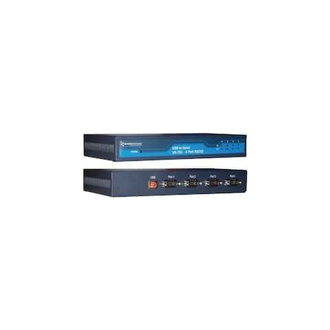 Brainboxes US-701 Brainboxes US-701 - USB 4 Port RS232 1MBaud - USB - 1 x Number of USB Ports