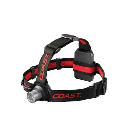 Coast TT7041CP LED Headlamp, HL5, 6-Chip, 175 Lumen Output