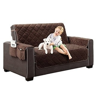 """Home Dynamix Reversible Couch Cover 