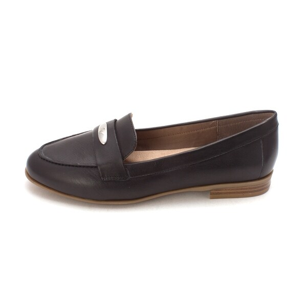 Giani Bernini Womens Chelaa Leather Closed Toe Loafers