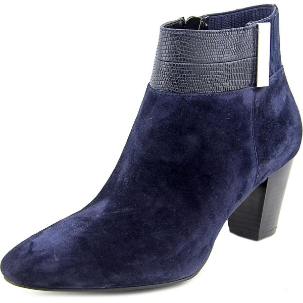 Alfani Palessa Women  Round Toe Suede  Ankle Boot