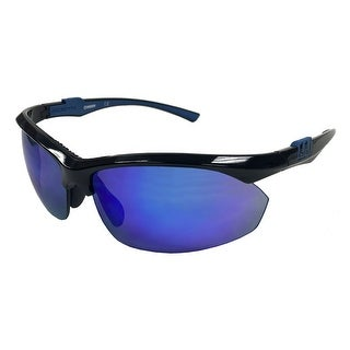 Worth FPEX 9 QTS Fastpitch Softball Sport Sunglasses Womens Blue Lens 10221824 - Black - One size