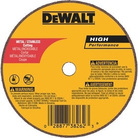 "DeWalt 4"" 60G Cutoff Wheel"