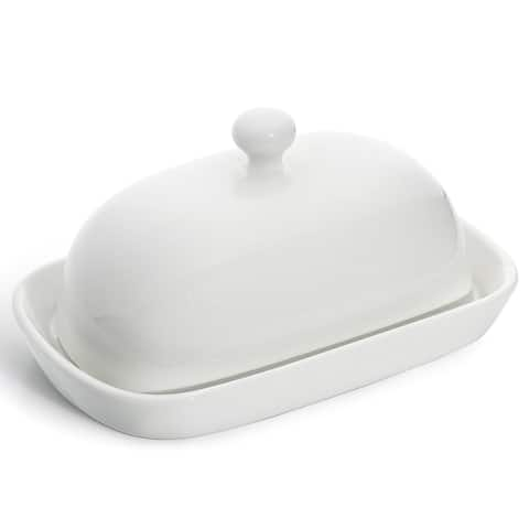 Sweese Porcelain Cute Butter Dish with Lid