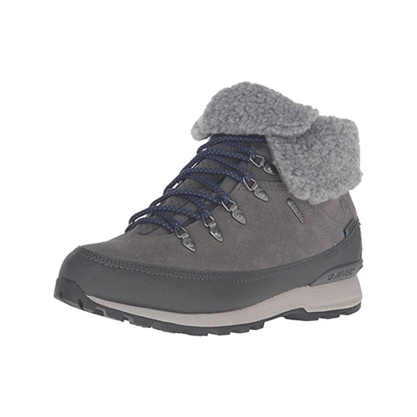 Hi-Tec Womens Kono Espresso Hiking Boots Suede Waterproof