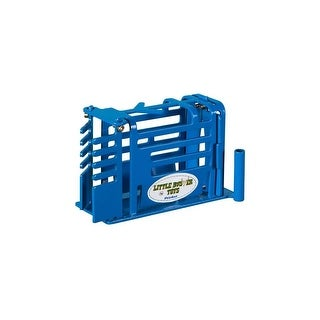 Little Buster Toy Heavy Duty Metal Calf Chute Blue 500238