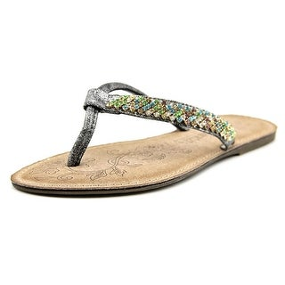 Patrizia By Spring Step Shana Open Toe Synthetic Thong Sandal