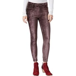 Free People Womens Pants Velvet Textured - 26