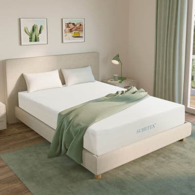 Subrtex 6-inch Gel-Infused Memory Foam Bed Mattress With Cover