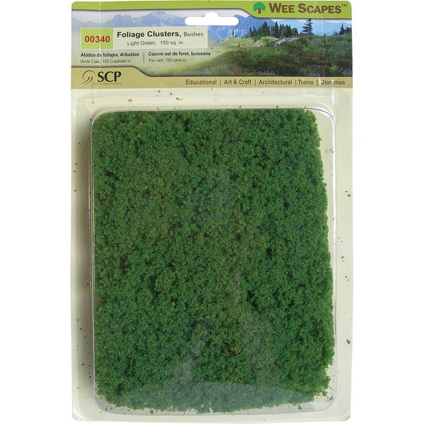 Bushes 150 Square Inches-Light Green