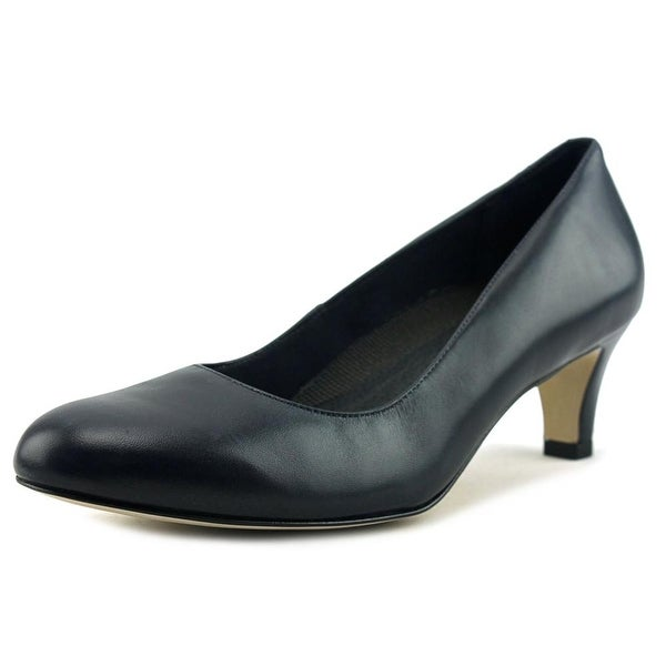 Walking Cradles Cabby Women Navy Pumps