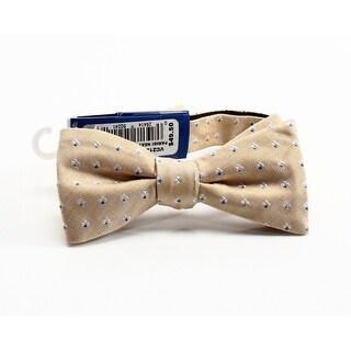 VINCE CAMUTO NEW Yellow Parigi Neat Men's Pre-tied Silk Blend Bow Tie