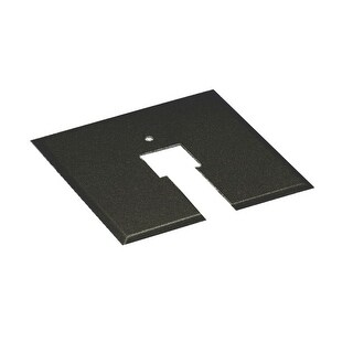 WAC Lighting CP Junction Box Canopy Plate for H-Track, J2-Track, J-Track, and L-Track Systems - N/A