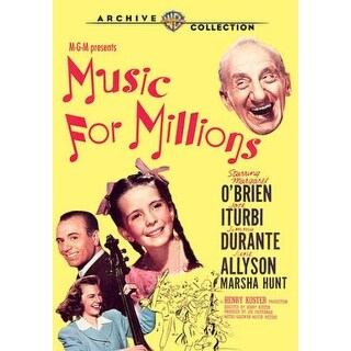 Music for Millions - DVD