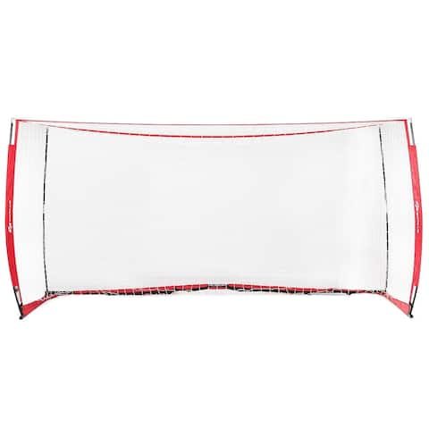 Durable Bow Style Soccer Goal Net with Bag - 8' x 4'