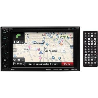 "Boss 6.2"" DDin Receiver Touchscreen Bluetooth DVD/CD USB/SD Front Aux Navigation"