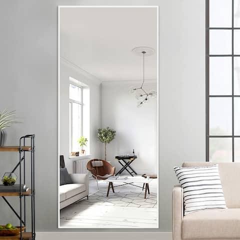 Modern Glam Large Full-length Floor Wall Mirror