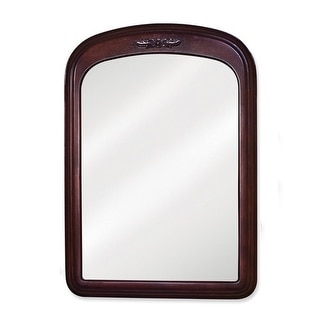 Elements MIR031 Emilia Collection Rounded 21 x 30 Inch Bathroom Vanity Mirror