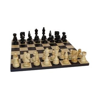 Black Russian Chess Set - Multicolored