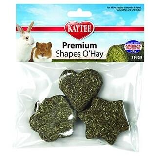 Kaytee Products KT00077 Premium Shapes O Hay Treats