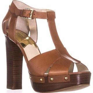 MICHAEL Michael Kors Beatrice Platform Sandals, Luggage