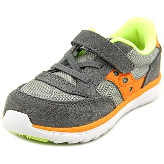 Saucony Jazz Lite Youth W Round Toe Suede Gray Sneakers