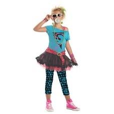 Tween 80's Valley Girl Trendy Halloween Costume