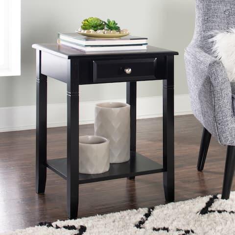Linon Newton 1-drawer Side Table / Nightstand