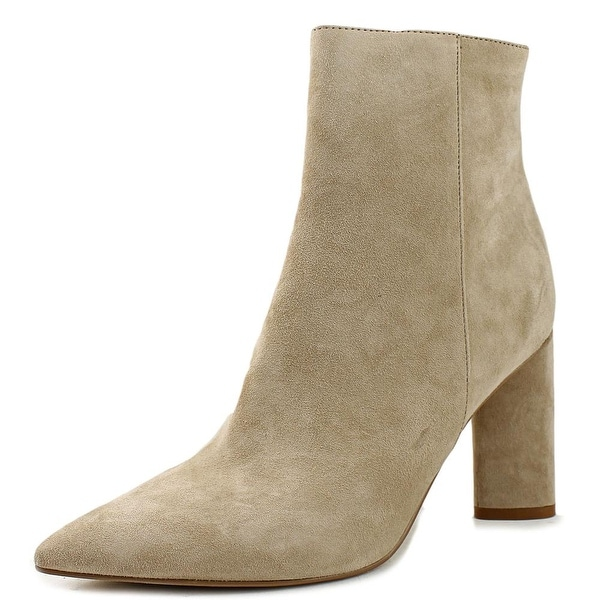 Kendall + Kylie Gretchen Women Pointed Toe Suede Nude Ankle Boot